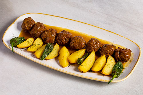 The best meatballs in Madrid