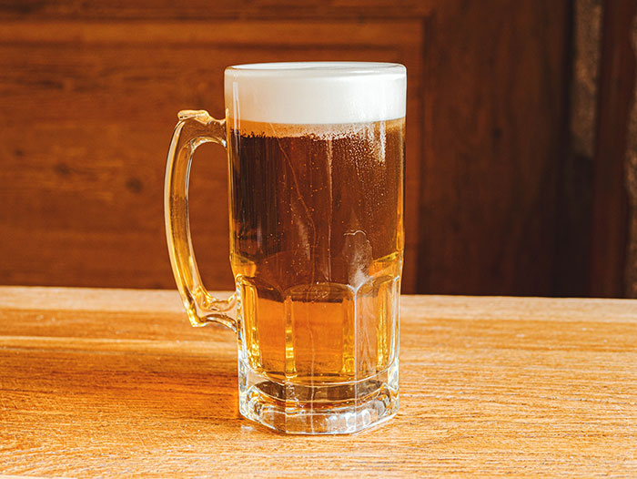 The best single beer jar in Madrid