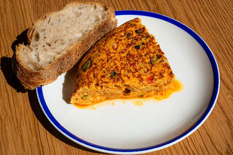 Traditional asturian omelette   Taberna El Fontán Madrid